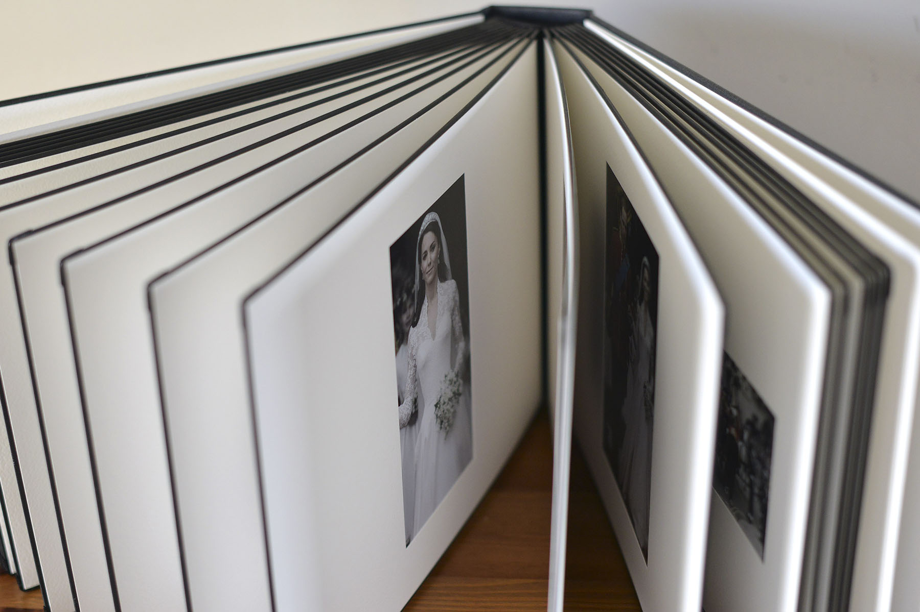 Shrewsbury wedding photographer - Matted Album